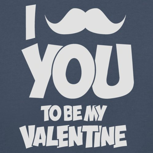 Moustache You - Herren T-Shirt - 13 Farben Navy