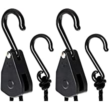 4e1e9720889 TRAFIKA Lighthangers Poleas con 5kg de Capacidad de sujección. Aptas para  Reflectores y Filtros