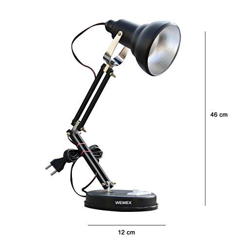 Wemex-Billie-Jean-Reading-Study-Table-Lamp