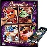 noris Schipper - Malen nach Zahlen - Cupcakes inkl. Pinselset