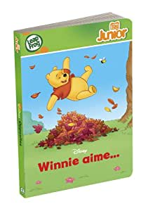 LeapFrog - TAG JUNIOR - Livre : Winnie aime... (Disney)