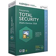 Kaspersky Total Security Multi-Device 2016 - Software De Seguridad, 3 Usuarios, Base