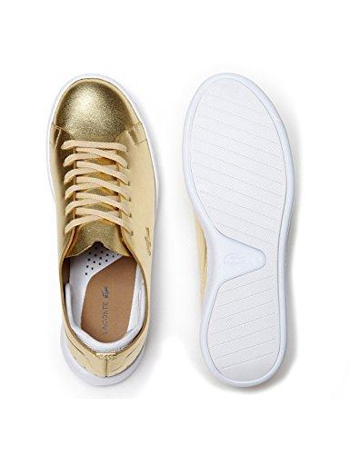 Lacoste Damen Sneaker GOLD EYYLA 7-34CAW00112M2 Schuhe Gold (caw gold)