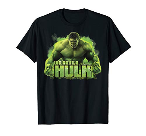 Marvel Infinity War We Have A Hulk Graphic T-Shirt