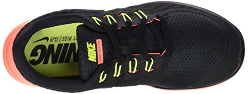 Nike Damen Free 5.0 Laufschuhe Mehrfarbig (Black/Volt/Bright Mango)
