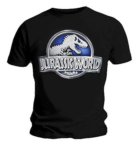 Jurassic World Official T Shirt Park Movie Dinosaur Logo
