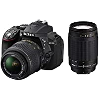 كاميرا نيكون D5300، 18-55 VR، 70-300