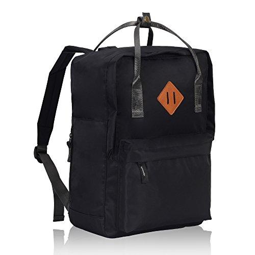 Imagen de veevan unisex grandes bolsas de escuela   para laptop para niñas adolescentes chicas negro alternativa