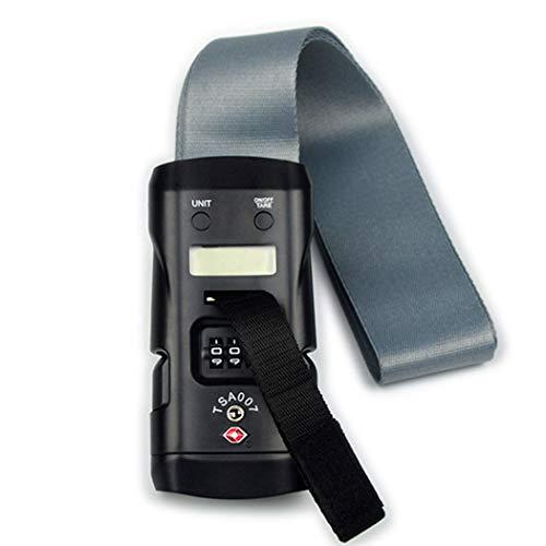 HUIFANG Passwort Zollschloss Gepäckwaage Tragbare Elektronische Waage 40kg Handtasche Gepäck Verband Expresswaage14.4 * 6.7 * 5cm A* DetektionsgenauigkeiA