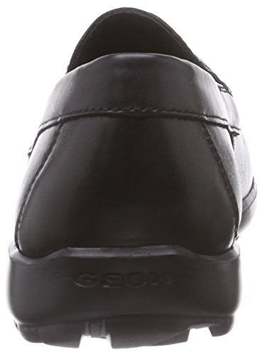 Geox - U Mantra B, Mocassini Uomo Nero (Blackc9999)