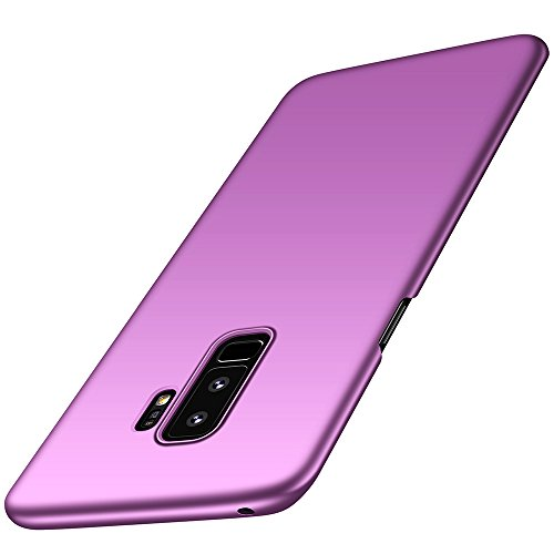 Samsung Galaxy S9 Plus Hülle, Anccer [Serie Matte] Elastische Schockabsorption und Ultra Thin Design für Samsung Galaxy S9 Plus (Nicht für Galaxy S9)-Glattes Lila