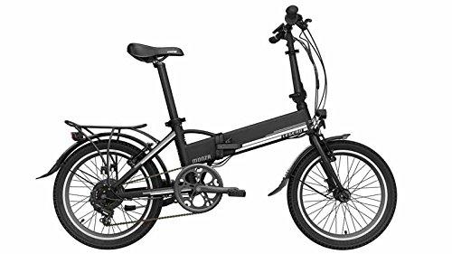 Bicicleta eléctrica plegable Legend Monza 10.4AH (negro)