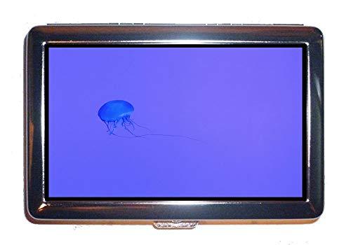 Portasigarette/scatola, pesce animale animale acquatico, custodia protettiva per porta carte di credito