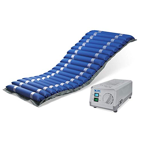 ZCPDP Streifen Aufblasbare Anti-Dekubitus-Matratze Wasserdicht Antibakterielle Schmerzlinderung Abnehmbarer Airbag Medizinisches Bett Patientenbett Wunde Kissen - Streifen Matratze