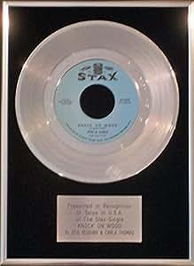 Otis Redding & Carla Thomas–17,8cm Platine disque–Knock on Bois