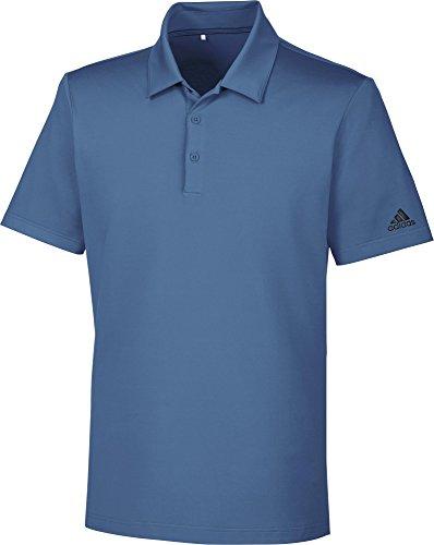 Adidas Ultimate 365Solid Polo mit Sonnenschutz Up + 50, Herren Graphitschaft M blau (Herren-graphitschaft)