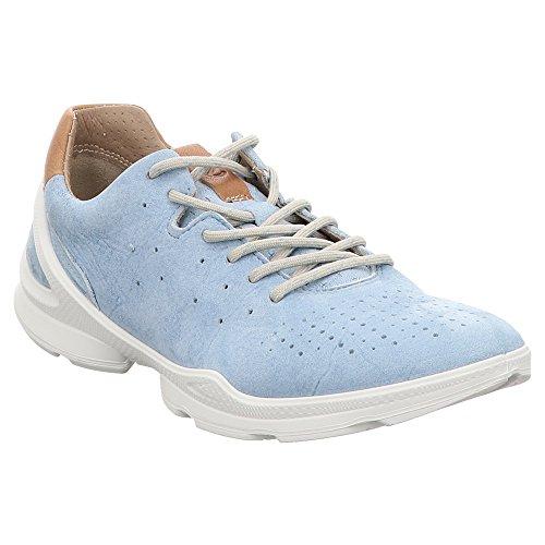 Ecco Damen Biom Street Sneaker, Blau (Indigo 3 Blue Lagoon 2318), 40 EU (Street Blauer Gang Damen)