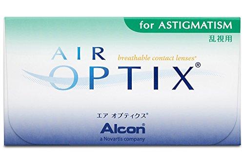 Air Optix for Astigmatism Monatslinsen weich, 6 Stück / BC 8.7 mm / DIA 14.5 mm / CYL -0.75 / ACHSE 180 / -2.75 Dioptrien