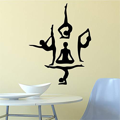 fkleber Moderne Mode Wandaufkleber Dekoration Zubehör für Wohnzimmer Bett Zimmer Aufkleber Wandbilder 3 43 * 56 cm ()