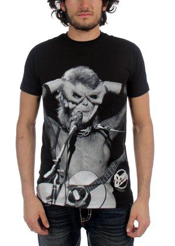 david-bowie-les-hommes-acoustic-court-t-shirt-manches-in-black