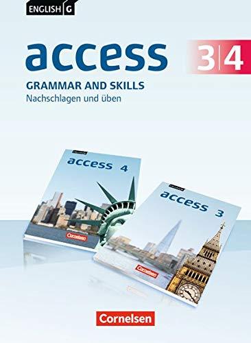 English G Access - Allgemeine Ausgabe: Band 3/4: 7./8. Schuljahr - Grammar and Skills