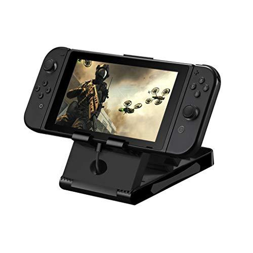 Fcostume Für Nintendo Switch Halter Halterung Stand Dock Cradle Spielekonsolen-Zubehör (Schwarz) -