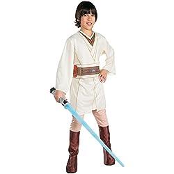 Rubies Costume Star Wars - Disfraz de Obi-Wan Kenobi para niño, talla L/8-10 años