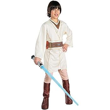 Obi Wan Kenobi Boys Star Wars Jedi Fancy Dress Kids Costume Outfit