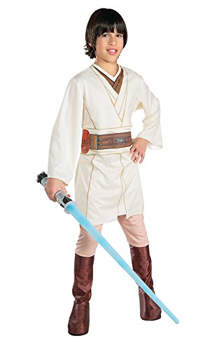 Rubie's Star Wars Obi-Wan Kenobi Jungen Kostüm ,L / 8-10 - Obiwan Kenobi Kinder Kostüm