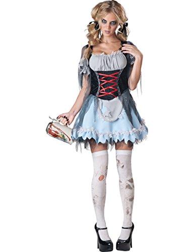 Bayerisches Zombie-Dirndl für Damen ()