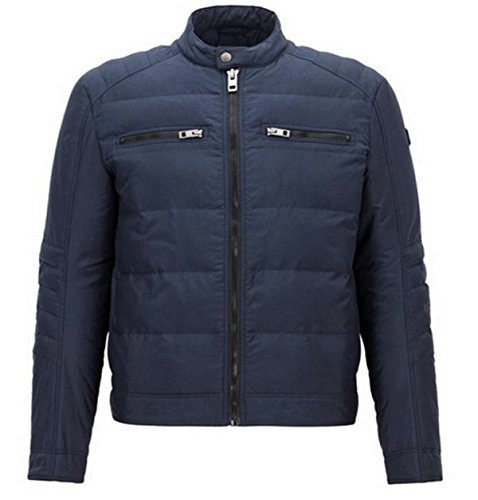 BOSS Orange Herren Jacke Oennis Blau (Dark Blue 404)