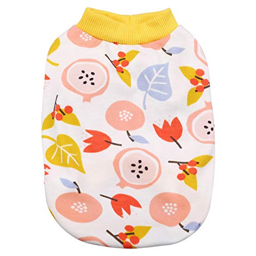 Kostüm Tulip - CHEN. Pet Clothes - Dünne Sommerkühlweste Zwei Fuß-Haustier-Produkte,Tulip,S