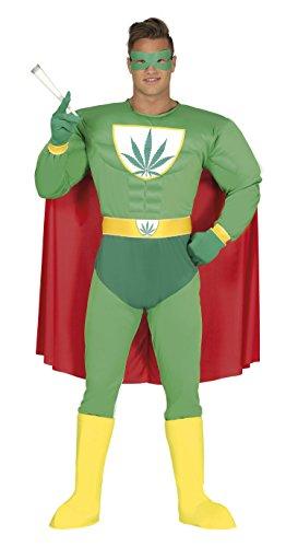 Guirca-Kostüm Erwachsene Superhelden, Größe 48-50(88275.0)