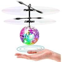 LISOPO, Mini Flugzeug Hubschruber mit LED Leuchtung Infrarot Flying Ball LISOPO RC Spielzeug Indoor und Outdoor