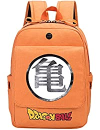 Unisex Dragon Ball Mochila Informal Dibujos Animados Mochila Mochila Escolar de Anime para Adolescentes School Bag