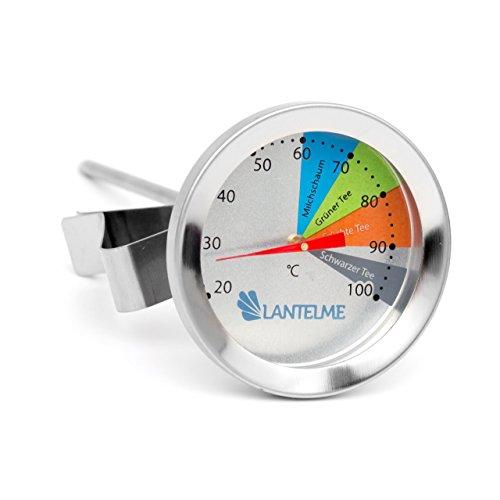 Preisvergleich Produktbild Edelstahl Tee Thermometer für Tasse oder Kanne . Wasserdicht und Spülmaschinen geeignet