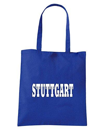 T-Shirtshock - Borsa Shopping WC0823 STUTTGART GERMANY CITY Blu Royal