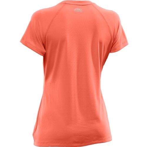 Under Armour UA Tech T-Shirt manches courtes Femme Magenta Orange (824)