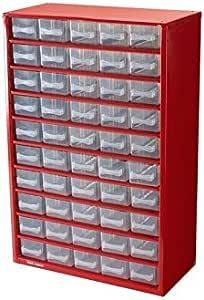 OEM - Boite - Casier de rangement en métal 50 tiroirs: Amazon.fr: Bricolage