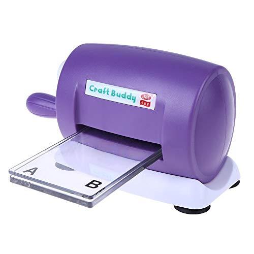 Occitop Stanz-/Prägemaschine, für Hobbybastler, Scrapbooking, Papierschneider, Karton -