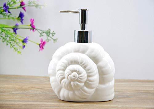 Willsego Badezimmer-Zubehör WC-Bad Schöne Keramik Emulsion Flasche Serie Nette Marine Lotion Flasche Hotel Liefert Unterer Block Flüssigseife Spenderflasche, E (Farbe : B) -