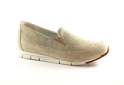 GRÜNLAND ATOM SC1732 beige Schuhe Frau Sporttyp mocasssino Beige
