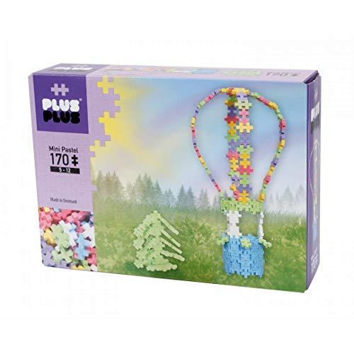 Plus-Plus 52197 - Steckspiele, Mini Pastel 170, Hot air Balloon