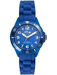 s.Oliver Unisex-Armbanduhr Analog Quarz Silikon SO-2757-PQ