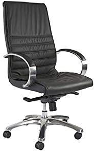 Mahmayi Susan 612 Executive Pu Extra Cushion Office Chair With Leatherite Upholstery (High Back)