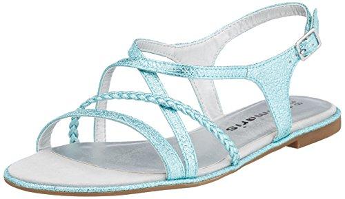 Tamaris 28129 Sandali con Cinturino alla Caviglia Donna Turchese Scarpe