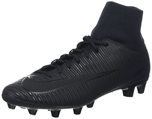 Nike mercurial victory vi df agpro, scarpe da calcio uomo, nero, 43 eu