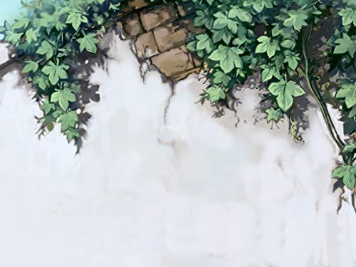 Flasche-pinsel-gras (EABBY Wandgrünes Gras DIY Digitales Ölgemälde Geburtstag und Weihnachtsfeier Geschenke Kinder Erwachsene handgemalte DIY Digital Oil Paint Colors 40 * 50cm)