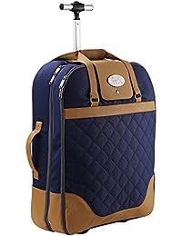 Cabina Max Mónaco portadora vestido de equipaje de mano maleta 55x40x20 cm . Perfecto para los vuelos de Ryanair y easyJet .