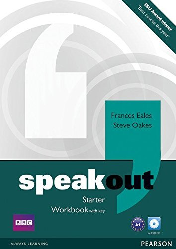 Speakout Starter Workbook with Key and Audio CD Pack by Frances Eales (2012-03-22)